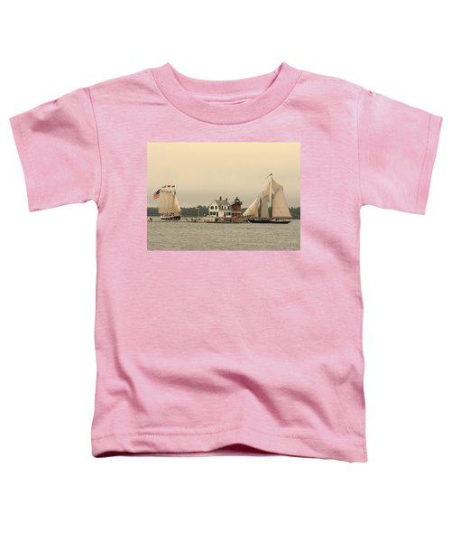 The Lighthouse At Rockland Toddler T-Shirt