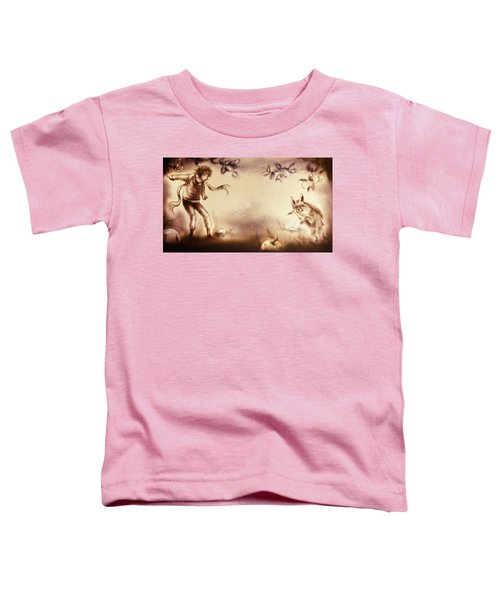 The Little Prince And The Fox Toddler T-Shirt