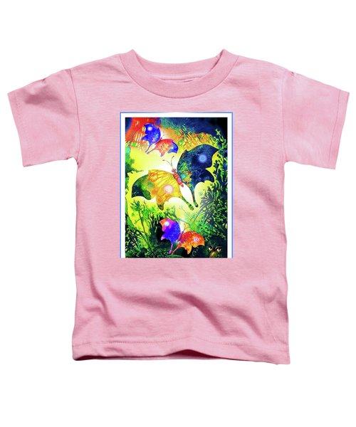 The Magic Of Butterflies Toddler T-Shirt