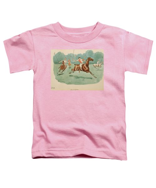 The Month Of June  Polo Toddler T-Shirt
