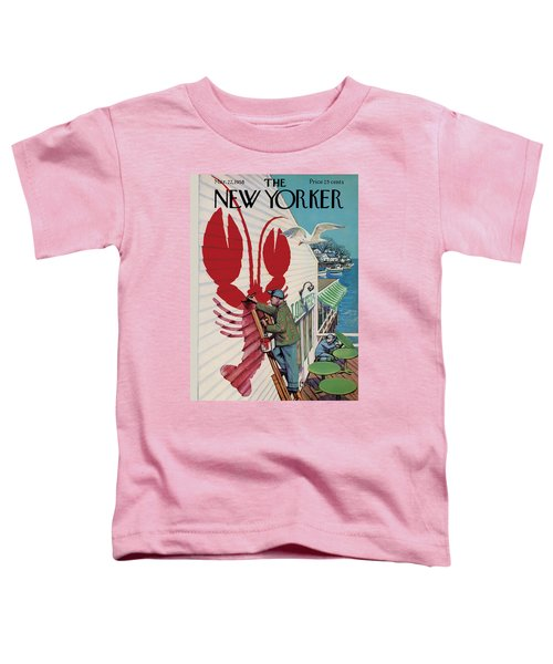 The New Yorker Cover - March 22nd, 1958 Toddler T-Shirt