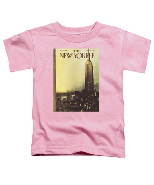 The New Yorker Cover - March 3rd, 1962 Toddler T-Shirt
