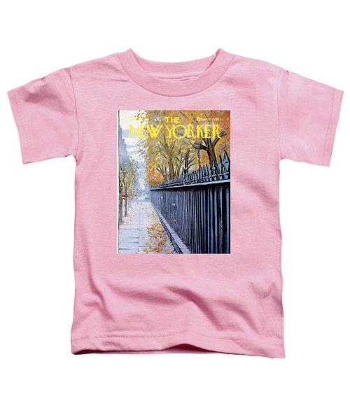 Autumn In New York Toddler T-Shirt