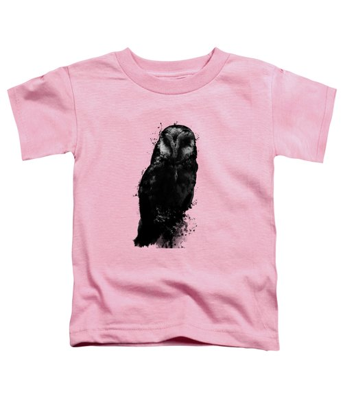 The Owl Toddler T-Shirt by Nicklas Gustafsson