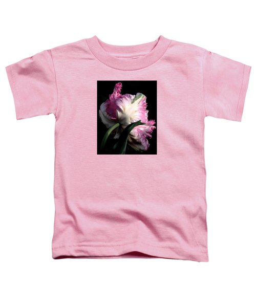 The Parrot Tulip Queen Of Spring Toddler T-Shirt