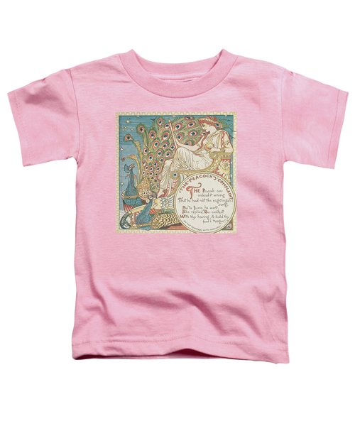 The Peacocks Complaint Toddler T-Shirt
