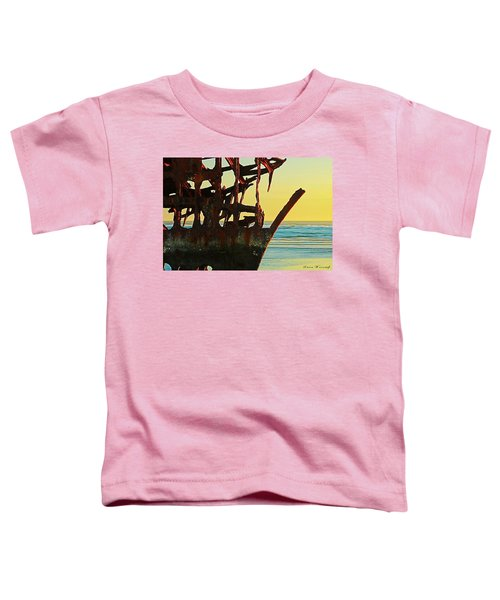 The Peter Iredale 4 Toddler T-Shirt