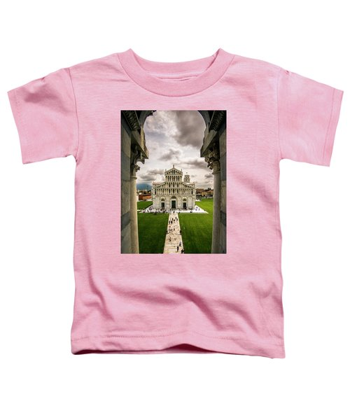 The Pisa Cathedral From The Bapistry Toddler T-Shirt