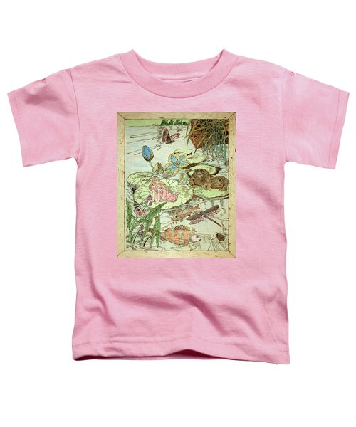 The Princess And The Frogs Toddler T-Shirt