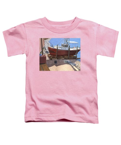 The Red Troller Toddler T-Shirt