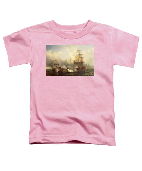 Unknown Title Sea Battle Toddler T-Shirt