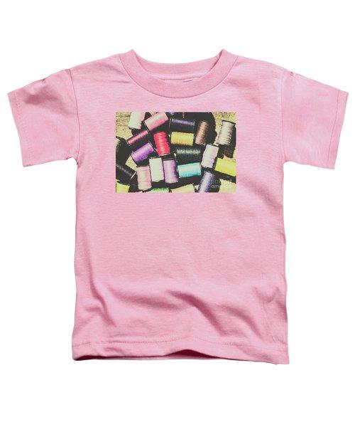 The Retro Craft Desk Toddler T-Shirt