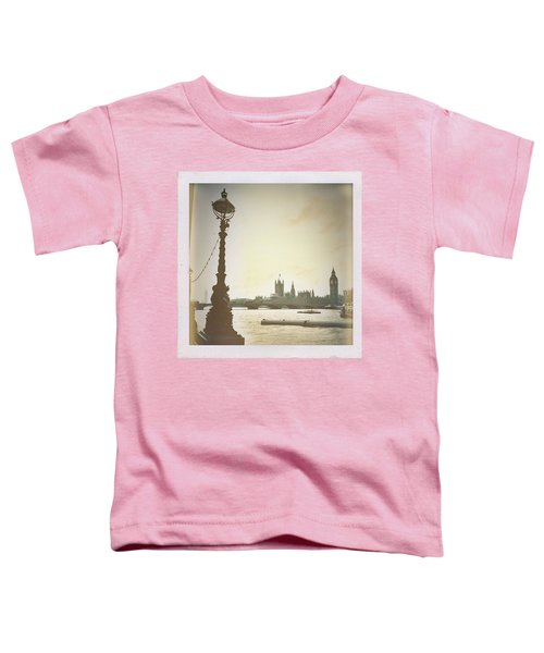 The River Thames  Toddler T-Shirt