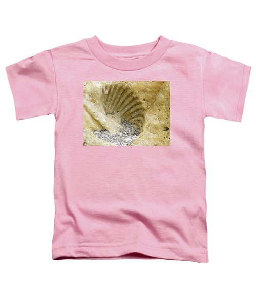 The Shell Fossil Toddler T-Shirt