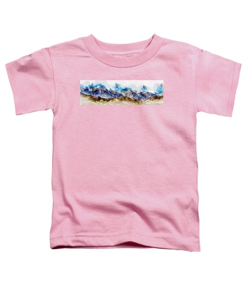 The Sierras Toddler T-Shirt