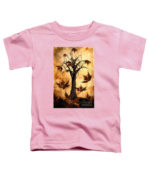 The Song Of Autumn Toddler T-Shirt