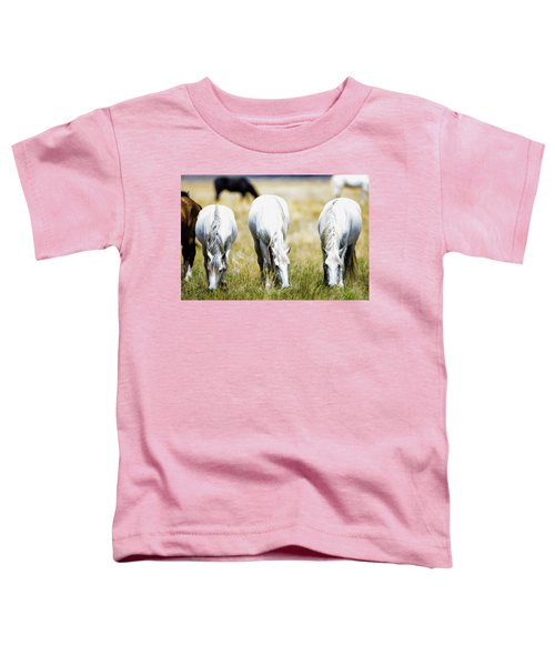The Three Amigos Grazing Toddler T-Shirt