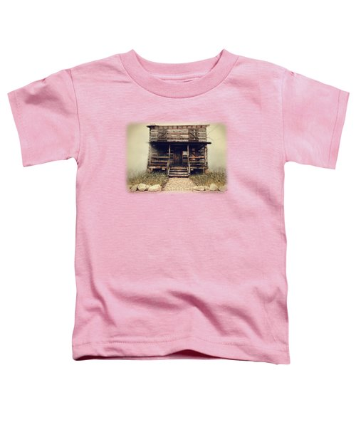 The Vann Cherokee Cabin Toddler T-Shirt