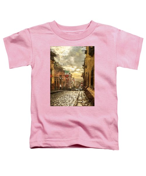 The View Looking Down Toddler T-Shirt
