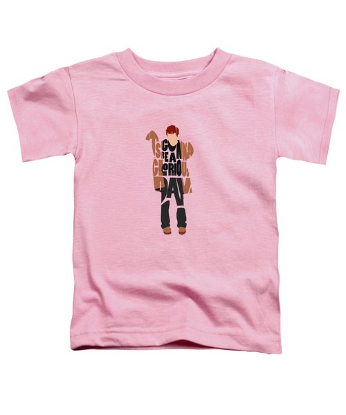 Thom Yorke Typography Art Toddler T-Shirt