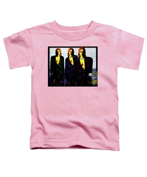 Three  Beautiful Triplet Ladies Toddler T-Shirt