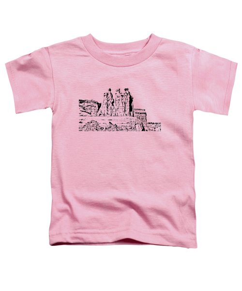 Three Gossips Drawing Toddler T-Shirt