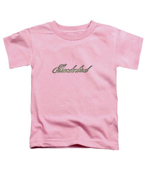 Thunderbird Badge Toddler T-Shirt