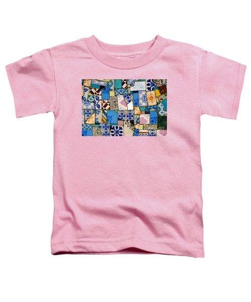 Tiles Fragments Toddler T-Shirt