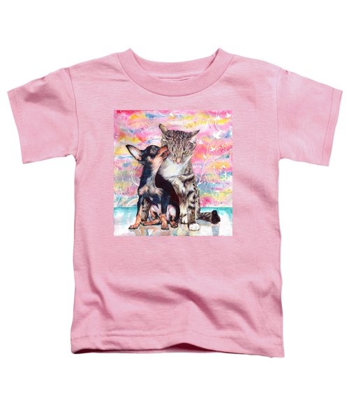 Tito And The Fonz Toddler T-Shirt