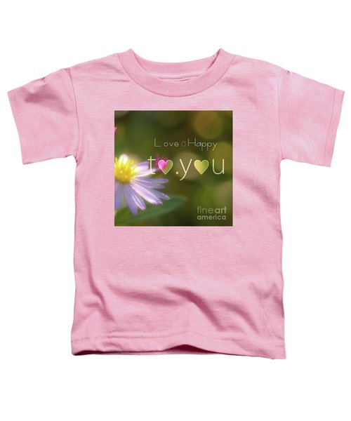 To You #003 Toddler T-Shirt