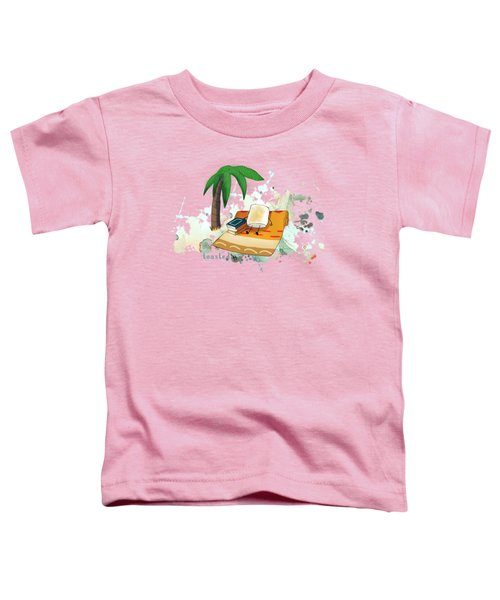 Toasted Illustrated Toddler T-Shirt