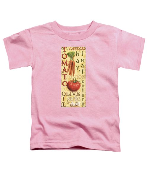 Tomato Soup Toddler T-Shirt by Debbie DeWitt