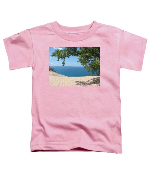 Top Of The Dune At Sleeping Bear Toddler T-Shirt