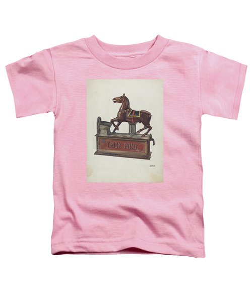 Toy Bank - Trick Pony Toddler T-Shirt