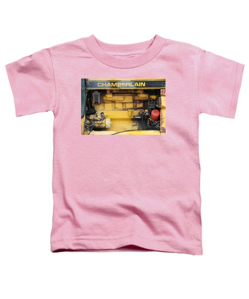 Toddler T-Shirt featuring the photograph Tractor Engine Iv by Stephen Mitchell