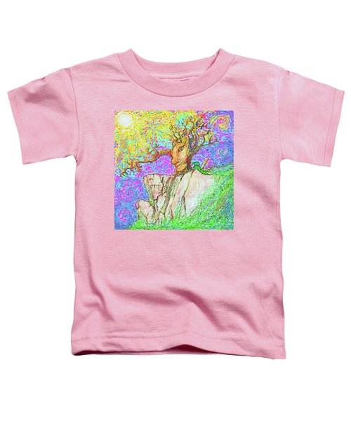 Tree Touches Sky Toddler T-Shirt