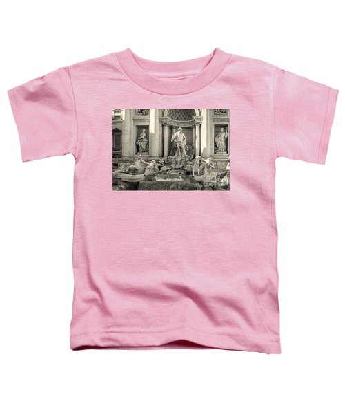 Trevi Fountain Toddler T-Shirt