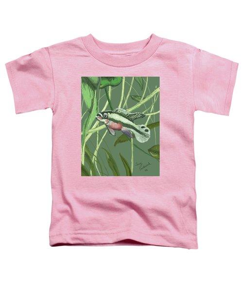 Tri Color Krib Toddler T-Shirt