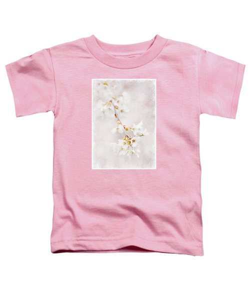 Triadelphia Cherry Blossoms Toddler T-Shirt