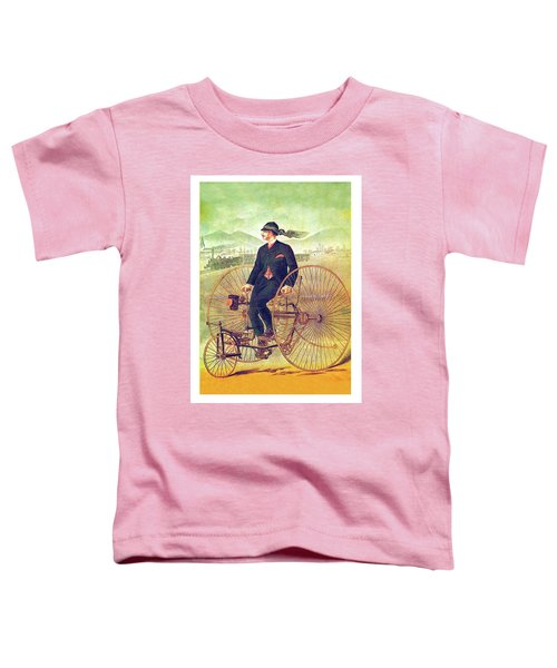 Tricycle Travel Toddler T-Shirt