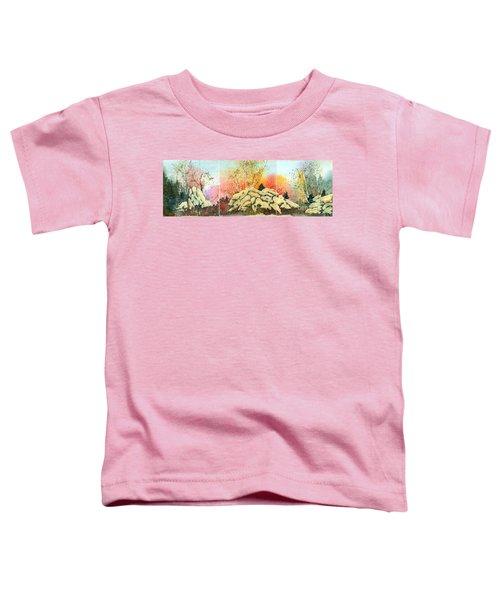 Triptych Toddler T-Shirt