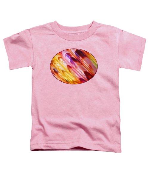 Triton Seashell Multicolor Abstract Toddler T-Shirt