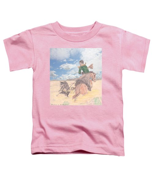 Trouble In Bunches Classic Toddler T-Shirt