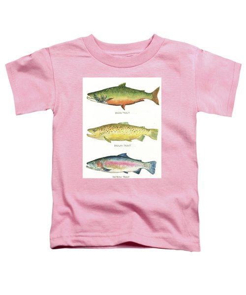 Trout Species Toddler T-Shirt