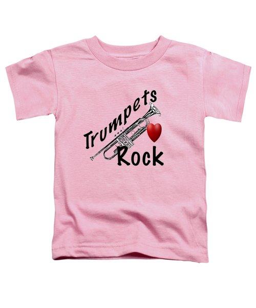 Trumpets Rock Toddler T-Shirt