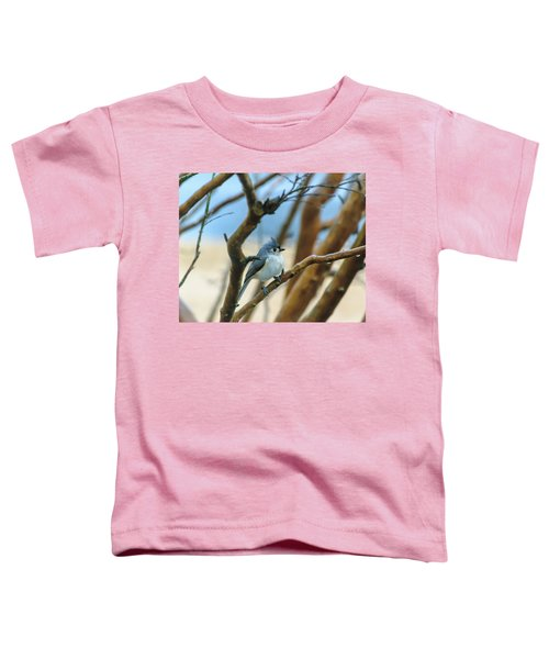 Tufted Titmouse In Tree Toddler T-Shirt