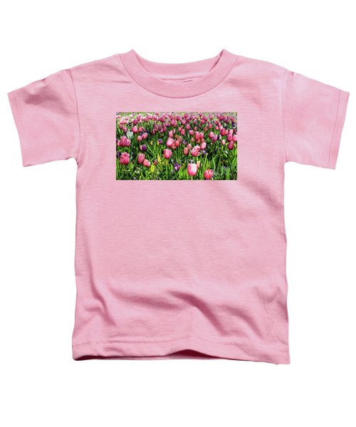 Tulips In Bloom Toddler T-Shirt