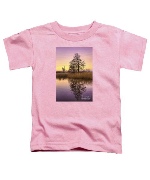 Turf Fen Mill At Sunrise Toddler T-Shirt