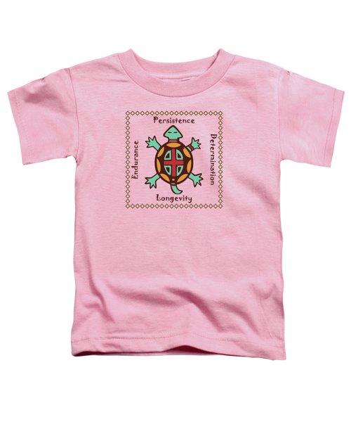 Turtle Animal Spirit Toddler T-Shirt