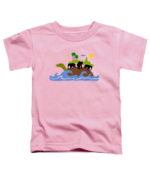 Turtles All The Way Down Toddler T-Shirt